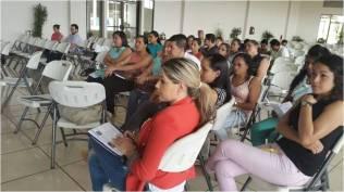 Grupo de Profesionales de la Región Huetar Atlántica en el Taller de Sensibilización replicado por las Coordinadoras Regionales del PSM 2015 del Ministerio de Salud y la CCSS